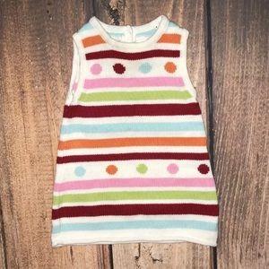 Gymboree sweater dress 6-12 Months